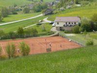 Tennisplätze und Vereinsheim