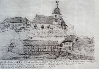 Stuppacher Kirchenbild um 1825