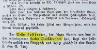 Auszug aus dem Hauptstaatsarchiv Stuttgart Bestand: Ben Ue 8-34